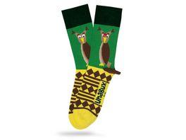 Unabux Socke Eule Unisex