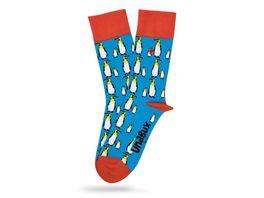Unabux Unisex Socken Pinguin