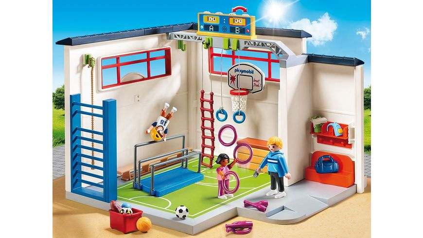Playmobil 9454 City Life Turnhalle