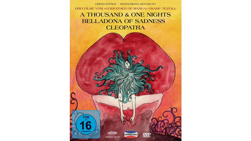 A Thousand One Nights Cleopatra Belladonna of Sadness OmU 3 DVDs