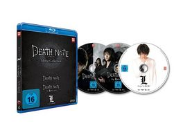 Death Note Movies 1 3 Death Note The Last Name L Change the World 3 BRs