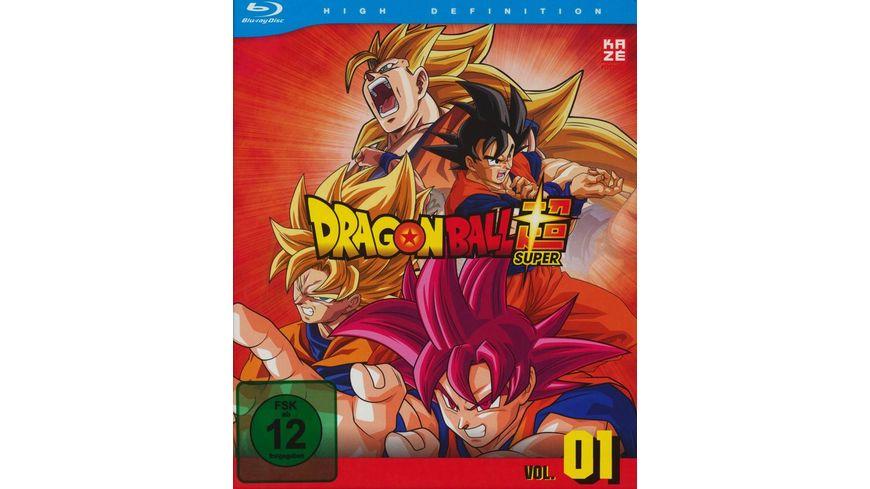 Dragonball Super 1 Arc Kampf der Goetter Episoden 1 17 2 BRs