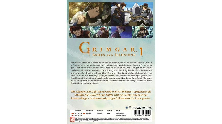Grimgar Ashes and Illusions Vol 1