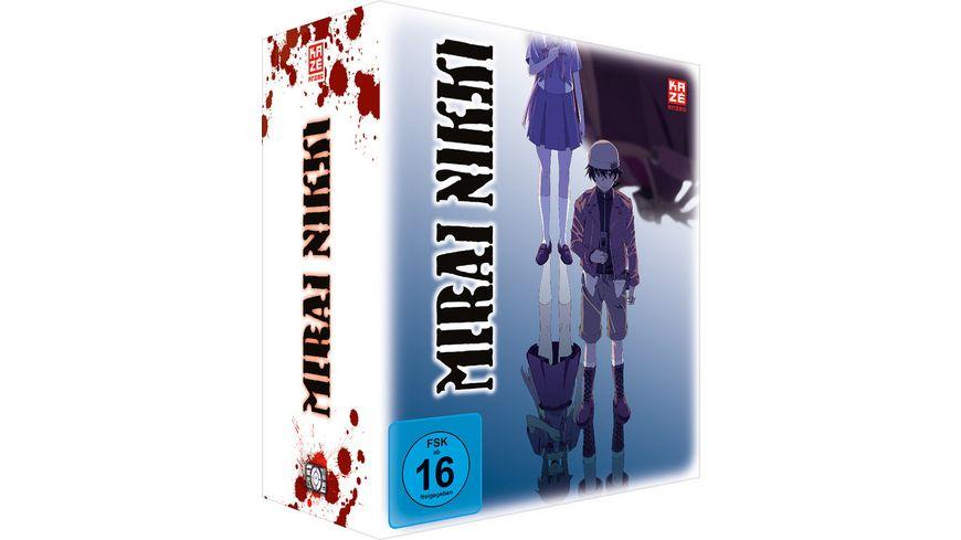 Mirai Nikki Box 1 mit Sammelschuber Limited Edition