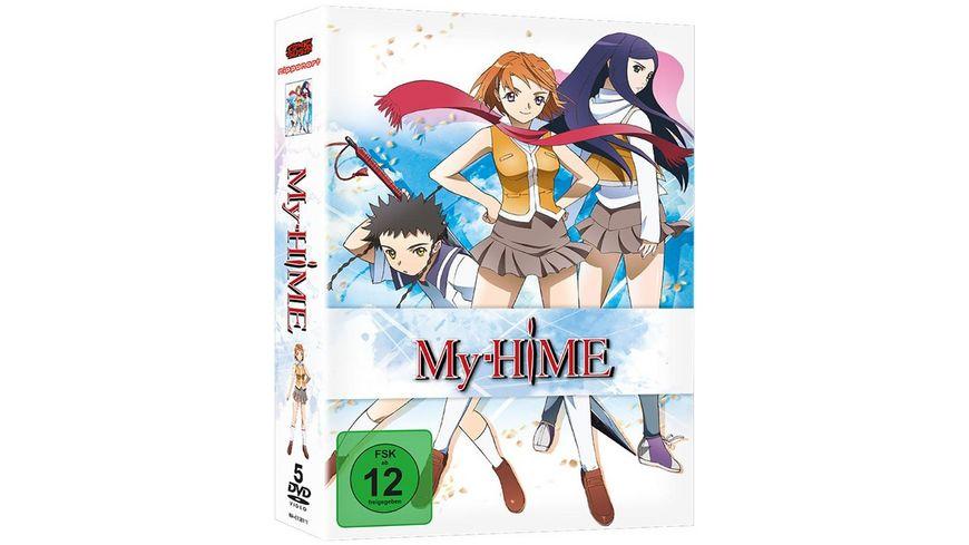 My Hime Gesamtausgabe 5 DVDs