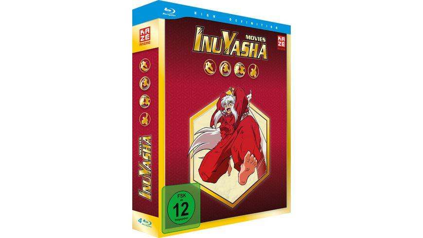 InuYasha Die Filme 4 BRs