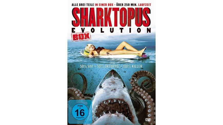 Sharktopus Evolution 50 Hai 50 Oktopus 100 Killer Uncut