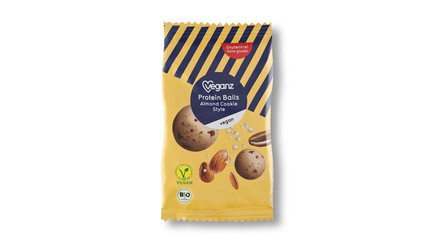 BIO Veganz Protein Balls Almond Cookie Style