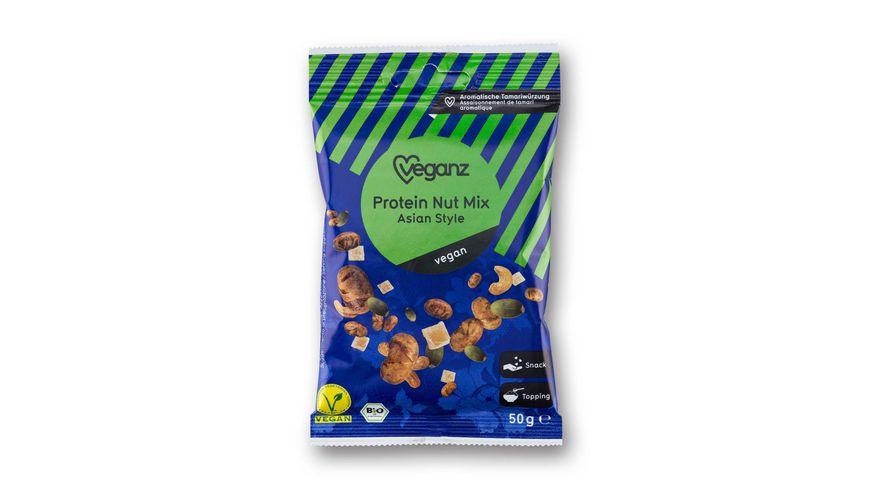 BIO Veganz Protein Nut Mix Asian Style