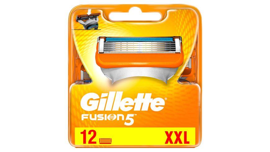 Gillette Fusion5 Systemklingen 12er Regalgroesse