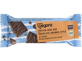 Veganz BIO Protein Choc Bar Chocolate Brownie Style
