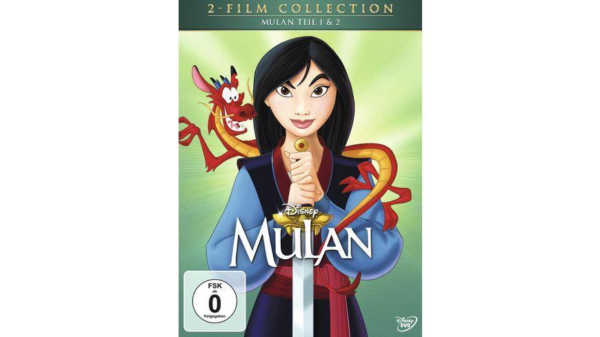 Mulan 1 2 Doppelpack Disney Classics 2 Teil 2 DVDs