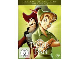 Peter Pan Doppelpack Disney Classics 2 Teil 2 DVDs