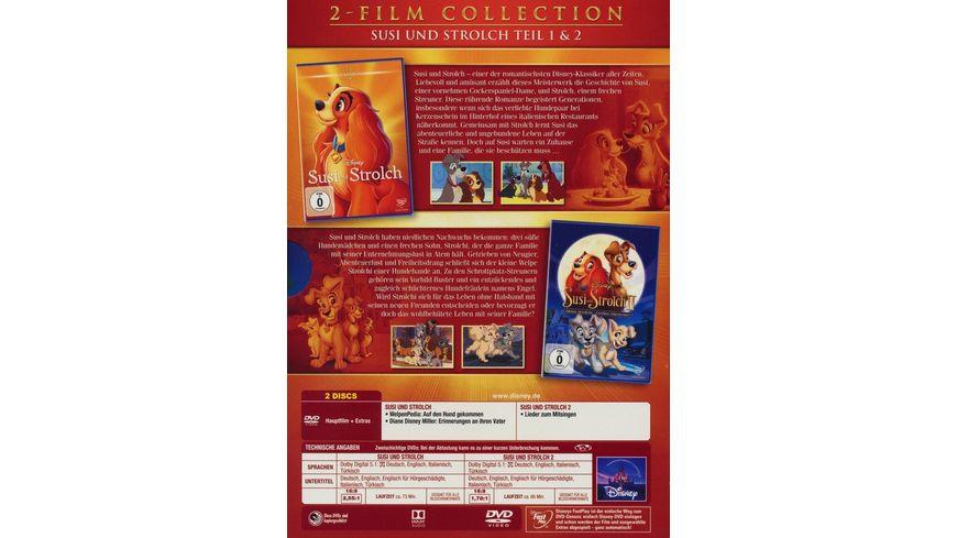 Susi und Strolch Doppelpack Disney Classics 2 Teil 2 DVDs