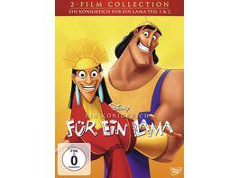 Ein Koenigreich fuer ein Lama Doppelpack Disney Classics 2 Teil 2 DVDs
