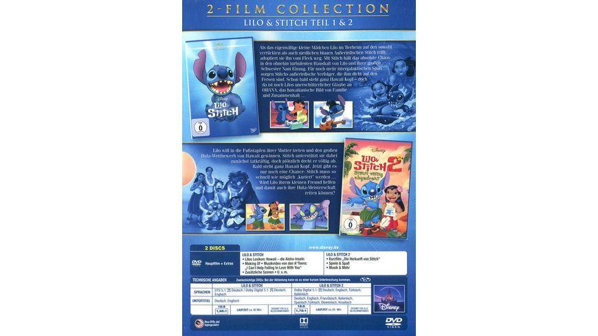 Lilo Stitch Doppelpack Disney Classics 2 Teil 2 DVDs