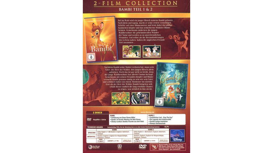Bambi Doppelpack Disney Classics 2 Teil 2 DVDs