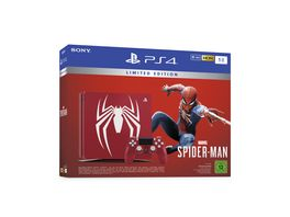PS4 Konsole 1 TB Limited Edition mit Marvel Spider Man