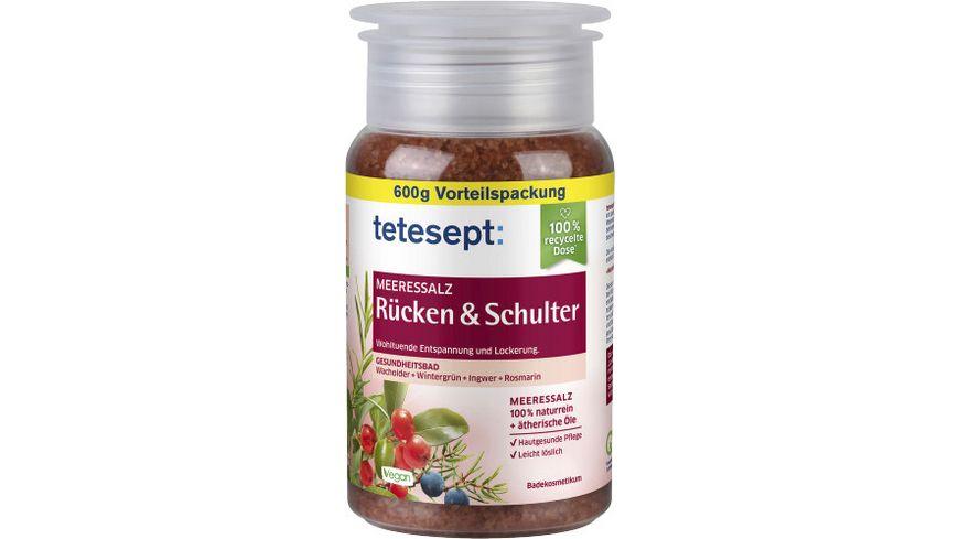 tetesept Bad Meersalz Ruecken Schulter