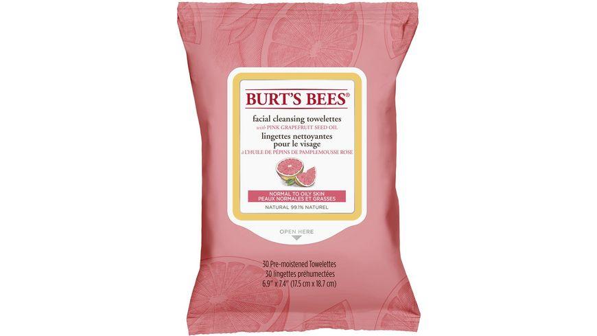 BURT S BEES Pink Grapefruit Reinigungstuecher