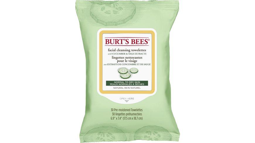 BURT S BEES Cucumber Gurke Reinigungstuecher