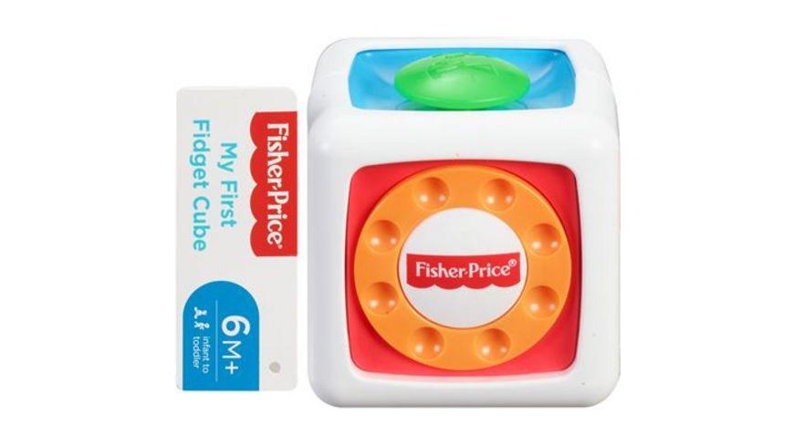 Fisher Price Babys Entdecker Spielwuerfel