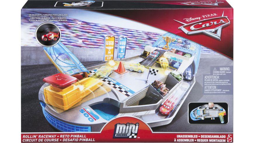 Mattel Disney Cars Rennsport Arena Spielset