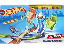 Mattel Hot Wheels Balance Breakout Trackset