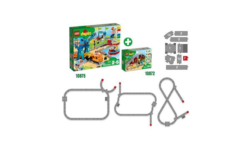 LEGO DUPLO 10872 Eisenbahnbruecke und Schienen