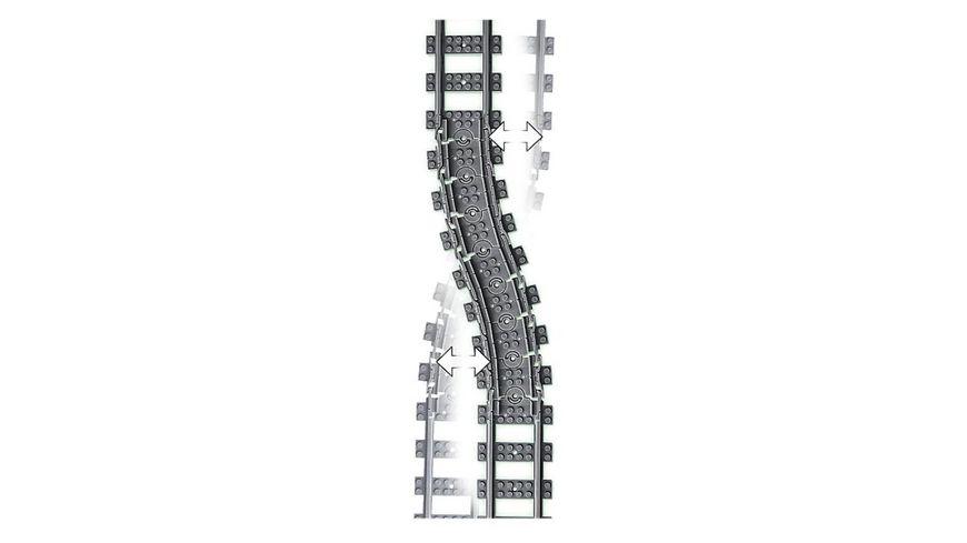 LEGO City Trains 60205 Schienen