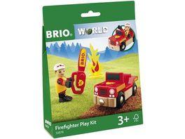 BRIO Bahn Spielpaeckchen Feuerwehr