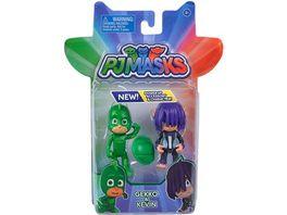 Simba PJ Masks Figuren Set Gecko und Kevin