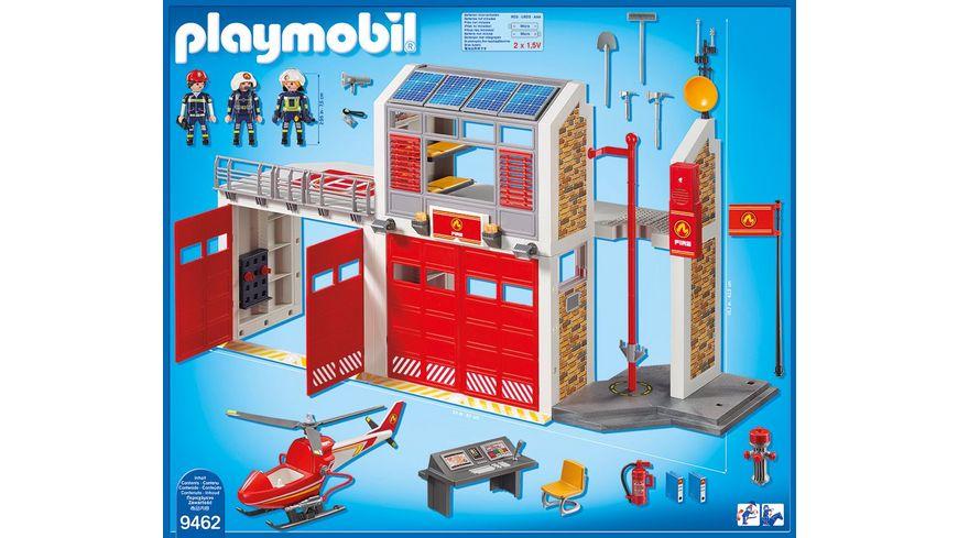 PLAYMOBIL 9462 City Action Grosse Feuerwache