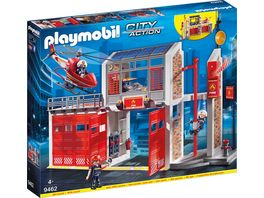 PLAYMOBIL 9462 City Action Grosse Feuerwache