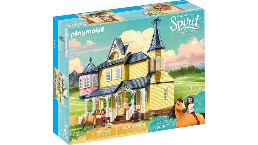 PLAYMOBIL 9475 Spirit Riding Free Luckys glueckliches Zuhause