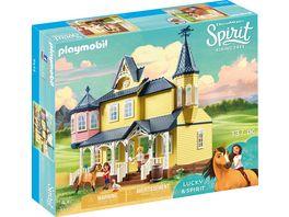 PLAYMOBIL 9475 Spirit Riding Free Luckys glueckliches Zuhause