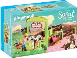 PLAYMOBIL 9480 Spirit Riding Free Pferdebox Abigail und Boomerang