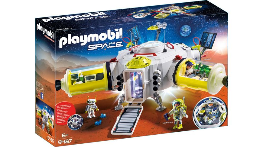 PLAYMOBIL 9487 - Space - Mars-Station