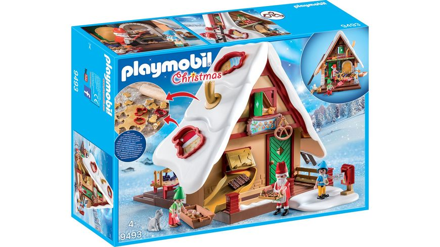 PLAYMOBIL 9493 - Christmas - Weihnachtsbäckerei mit Plätzchenformen