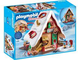 PLAYMOBIL 9493 Christmas Weihnachtsbaeckerei mit Plaetzchenformen