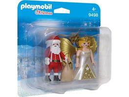 PLAYMOBIL 9498 Duo Pack Duo Pack Weihnachtsmann und Engel