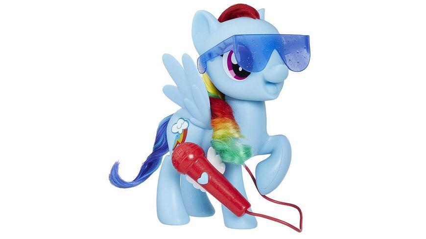 Hasbro My Little Pony Grossartig singende Rainbow Dash