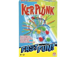 Mattel Games Fast Fun Kerplunk