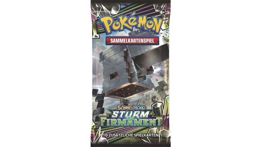 Amigo Spiele Pokemon SM07 Sturm am Firmament Booste