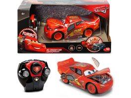 Dickie Toys RC Cars 3 Lightning McQueen Crazy Crash