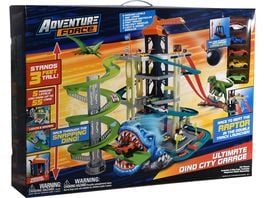 Dickie Adventure Force Ultimate Dino City Garage