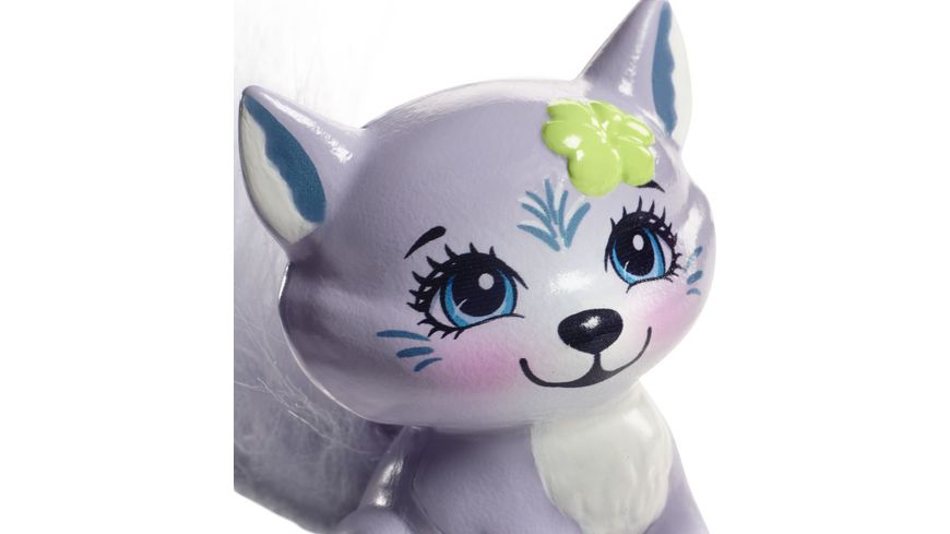 Mattel Enchantimals Wolfsmaedchen Winsley Wolf Puppe