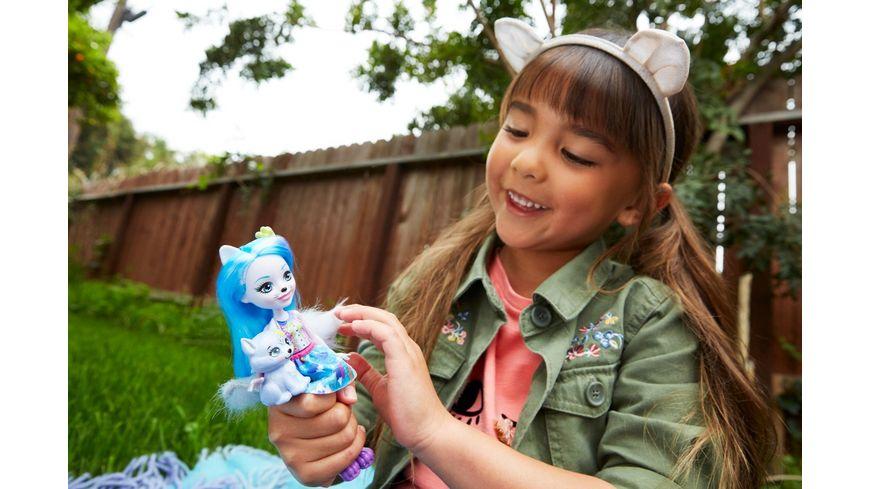 Mattel Enchantimals Wolfsmaedchen Winsley Wolf Puppe