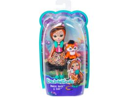 Mattel Enchantimals Tigermaedchen Tanzie Tiger Puppe