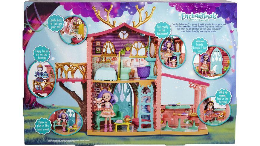 Mattel Enchantimals Spielhaus Set Reh